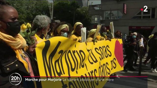 Ivry-sur-Seine : une marche jaune en hommage de Marjorie