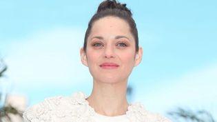 """Marion Cotillard est venue à Cannes défendre le film de James Gray, """"The immigrant"""".  (PHOTOPQR/LE PARISIEN/Frédéric Dugit)"""