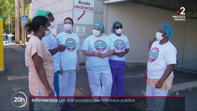 Infirmier(e)s : les mal payé(e)s des hôpitaux publics