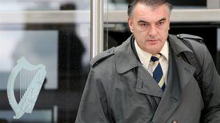 Ian Bayley quitte la Cour de Justice de Dublin, en juillet 2010 (AFP. P.Muhly)