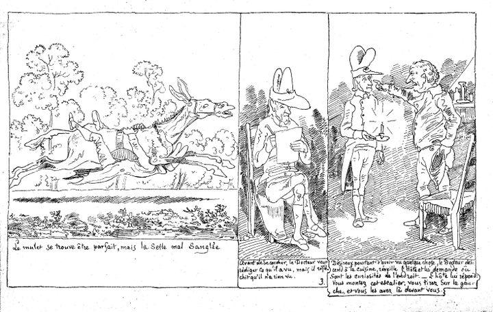 """""""Le Docteur Festus"""" s.d. (1ère édition 1840)Coll. Bibliothèque nationale et universitaire de Strasbourg (Bnu, Strasbourg)"""
