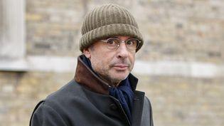 Alexandre Djouhri, le 13 janvier 2018, à Londres. (TOLGA AKMEN / AFP)