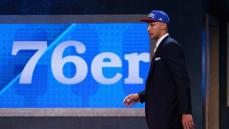Le basketteur américain numéro 1 de la draft 2016, Ben Simmons (MIKE STOBE / GETTY IMAGES NORTH AMERICA)
