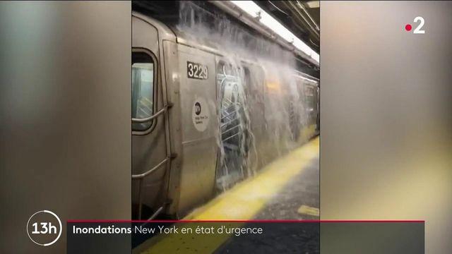 New York : des inondations historiques, au moins sept morts