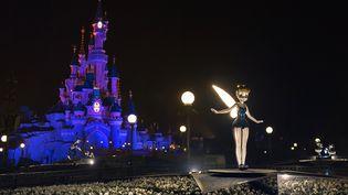 Le parc d'attractions Disneyland Paris, le 15 mars 2017 à Marne-La-Vallée (Seine-et-Marne). (BERTRAND GUAY / AFP)