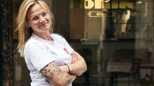 Cathy Paraschiv, cheffe de l'Ibrik Kitchen et de l'Ibrik Deli à Paris. (Ibrik Kitchen)