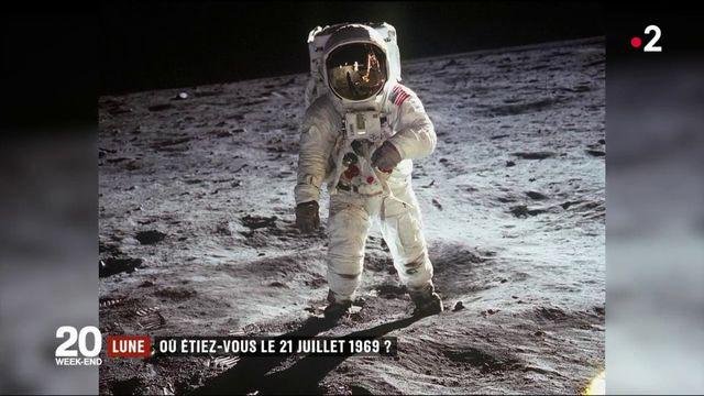 Lune : ils se souviennent du 21 juillet 1969