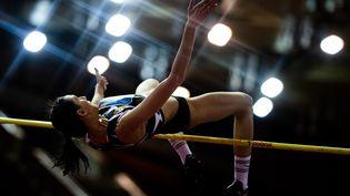 La Russe Maria Lasitskene est autorisée à faire son retour à la compétition sous banière neutre. (VLADIMIR ASTAPKOVICH / SPUTNIK)