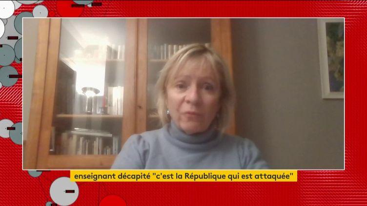 Frédérique Rolet (Snes-FSU) (FRANCEINFO)