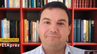 """GRAND ENTRETIEN. Thomas Piketty, économiste, dessine l'après-coronavirus : """"Ilfaudra demander un effort aux plus aisés"""" (FRANCEINFO)"""