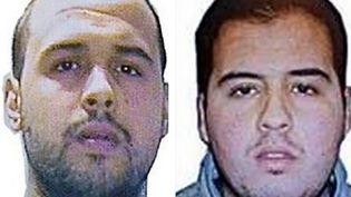 Les frèresEl Bakraoui : Khalid (à gauche) et Ibrahim (à droite). (AFP)