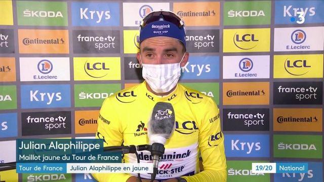 Tour de France : le maillot jaune pour Julian Alaphilippe après la 2e étape