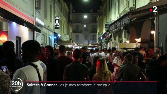 Soirées festives à Cannes : les jeunes s'amusent sans respecter les gestes barrières