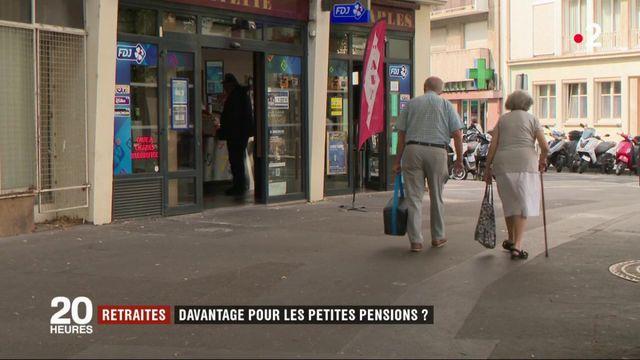 Retraites : davantage pour les petites pensions ?