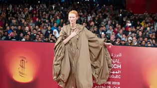Tilda Swinton au festival international du film de Marrakech (KARIM TIBARI)