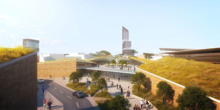 Image du projet de ville nouvelle, Yennenga, à 15 km au sud de Ouagadougou. (CGE immobilier)