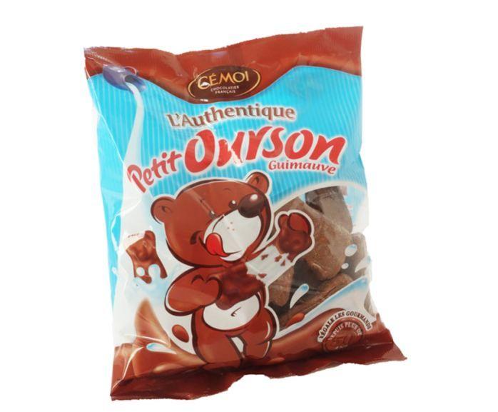 Les bonbons L'Authentique petit ourson guimauve de Cémoi. (FOODWATCH)