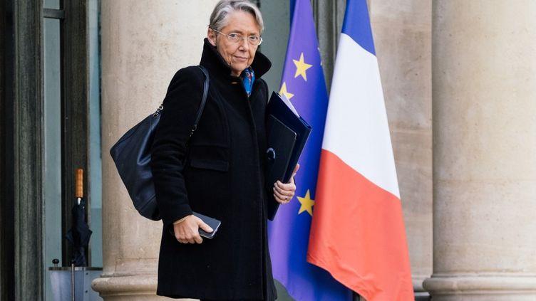 Elisabeth Borne, la ministre de la Transition écologique, à Paris, le 29 février 2020. (MARIE MAGNIN / HANS LUCAS / AFP)