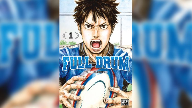 Couverture du manga Full Drum (Pika Edition). (FULL DRUM © 2017 BY TOHRU HAKOISHI / SHUEISHA INC.)