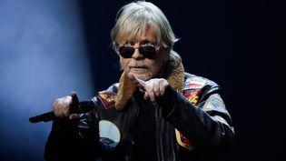 Le chanteur Renaud, Cérémonie du Prix Sacem, salle Pleyel à Paris, le 10 décembre 2018 (THOMAS SAMSON / AFP)
