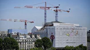 Le chantier de La Samaritaine à Paris, le 11 juillet 2017. (THOMAS PADILLA / MAXPPP)