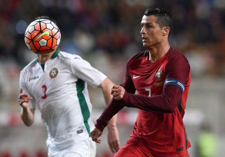Christiano Ronaldo, la vedette du Portugal