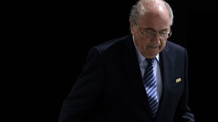 Sepp Blatter (FABRICE COFFRINI / AFP)