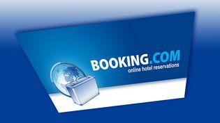 Le logo du site internet Booking le 28 avril 2014. (LEX VAN LIESHOUT ANP / ANP MAG / AFP)