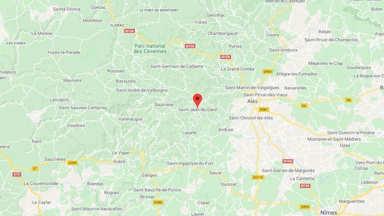 Saint-Jean-du-Gard, dans le Gard. (GOOGLE MAPS)