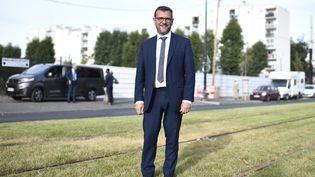 Le maire de Clichy-sous-Bois (Seine-Saint-Denis), le 16 septembre 2019. (STEPHANE DE SAKUTIN / AFP)