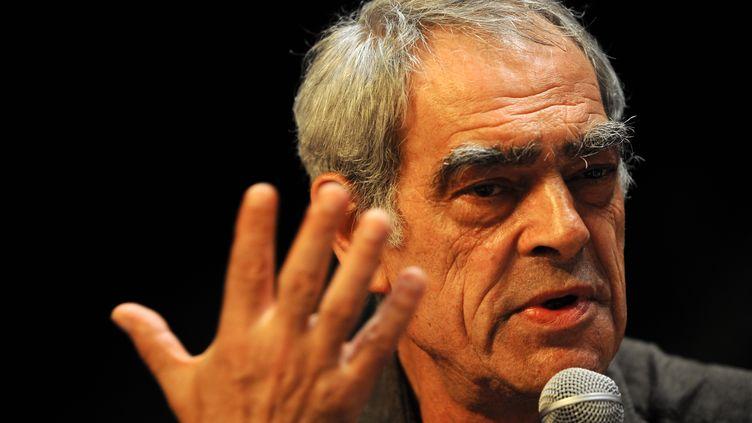 Henri Emmanuelli le 28 août 2008 à La Rochelle (Charente-Maritime) (JEAN-PIERRE MULLER / AFP)