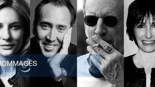 Cate Blancett, Nicolas Cage, Larry Clark, Gale Anne Hurd, John Travolta, stars du 39e Festival du cinéma américain de Deauville  (Festival du cinéma américain de Deauville )