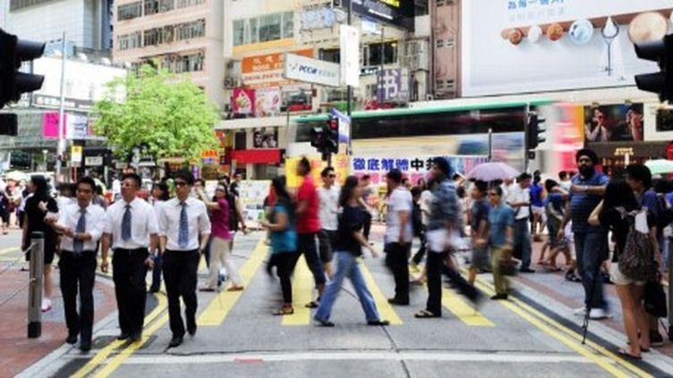 Hong Kong, le 19 juin 2011. (AFP/LAURENT FIEVET)