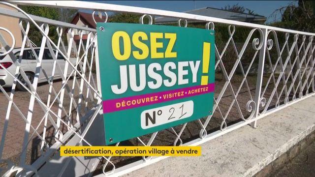 Osez Jussey ! Un village tout entier à vendre
