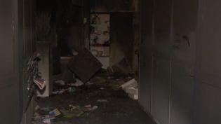 Les locaux de France Bleu Isère ont été incendiés à Grenoble lundi 28 janvier (CAPTURE D'ÉCRAN FRANCE 3)