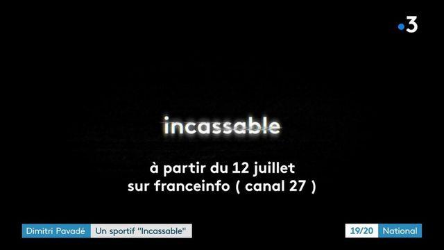 """Jeux paralympiques : Dimitri Pavadé, un athlète """"Incassable"""""""