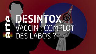 Vaccin Covid-19 : non, les laboratoires Pfizer et Bio N Tech n'ont pas prévu la pandémie depuis 2019 (ARTE/2P2L)