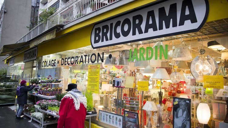 13/12/2012 -Illustration du magasin BRICORAMA, situe au 22-28 avenue Simon Bolivar a Paris. Bricorama devra fermer ses magasins le dimanche (V. WARTNER / 20 MINUTES / SIPA)