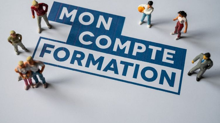 Le site Mon compte formation a fait face à un afflux important le 29 juin 2021. (RICCARDO MILANI / HANS LUCAS / AFP)