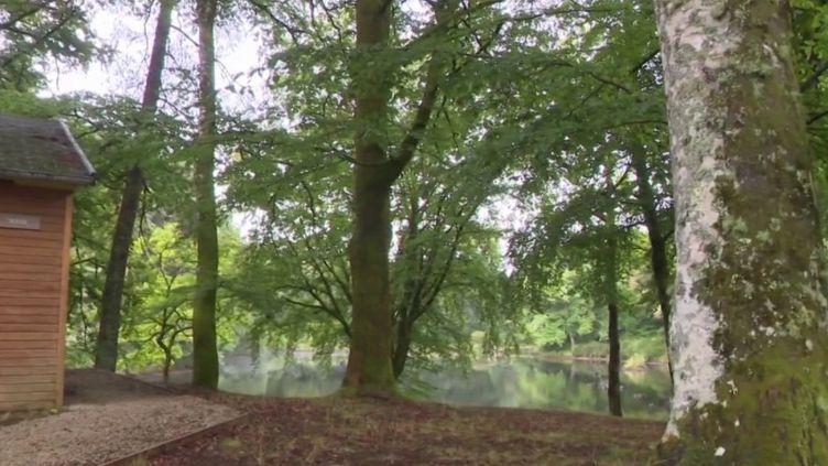 Corrèze : les espaces verts ont attiré les citadins (CAPTURE D'ÉCRAN FRANCE 3)