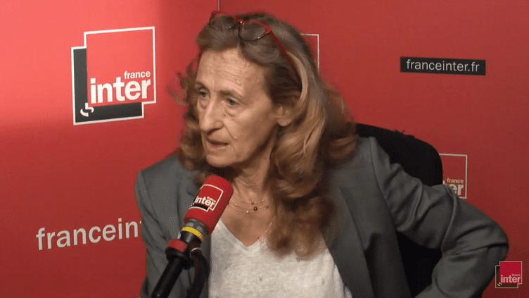 La ministre de la Justice Nicole Belloubet, le 13 juin 2018. (RADIO FRANCE / FRANCE INTER)