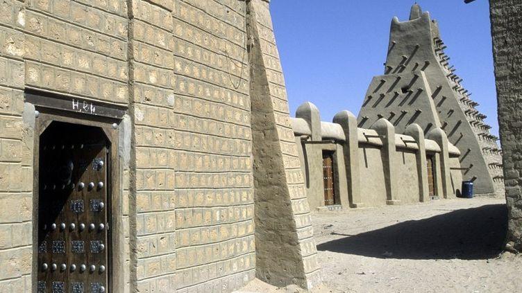 La mosquée de Sankoré, à Tombouctou, au Mali. (NICOLAS THIBAUT / AFP)