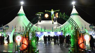 """Le chapiteau du Cirque du Soleil présentant """"Totem"""" en février 2020 à Munich. (HANNES MAGERSTAEDT / GETTY IMAGES EUROPE)"""