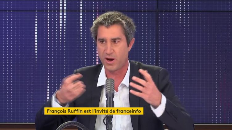 François Ruffin, député La France Insoumise de la Somme, invité de franceinfo le 10 juin 2020. (FRANCEINFO / RADIOFRANCE)