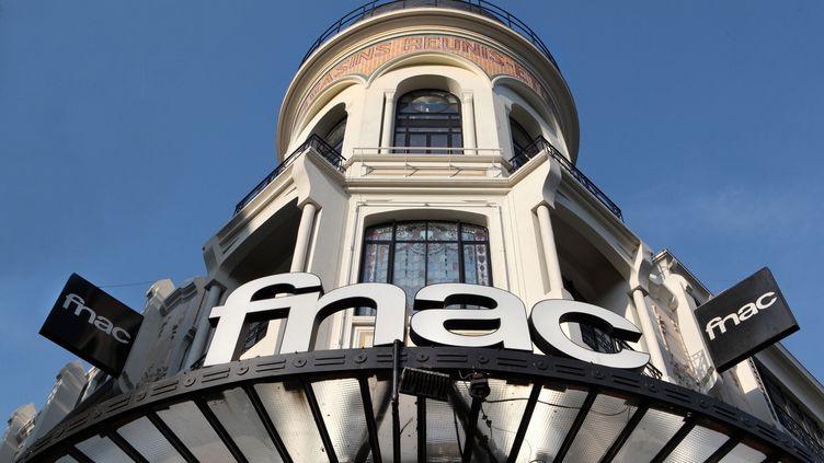 Un magasin Fnac dans le 17e arrondissement de Paris, le 29 septembre 2019. (MANUEL COHEN / AFP)
