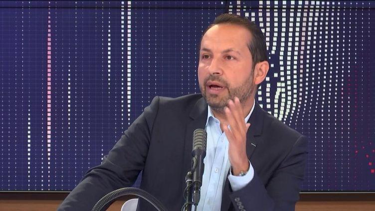 Sébastien Chenu, porte-parole du RN et député du Nord, invité de franceinfo le 11 juin 2020. (FRANCEINFO / RADIOFRANCE)
