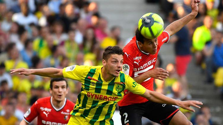 Nantes et Rennes dos à dos (DAMIEN MEYER / AFP)