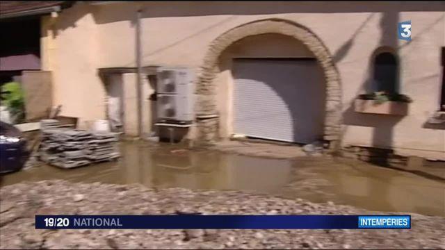 Intempéries : de violents orages ont touché l'est de la France