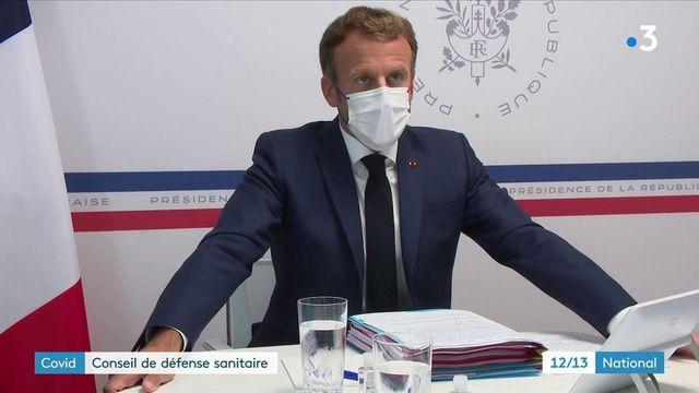 """Covid-19 : """"La crise sanitaire n'est pas derrière nous"""", annonce Emmanuel Macron"""