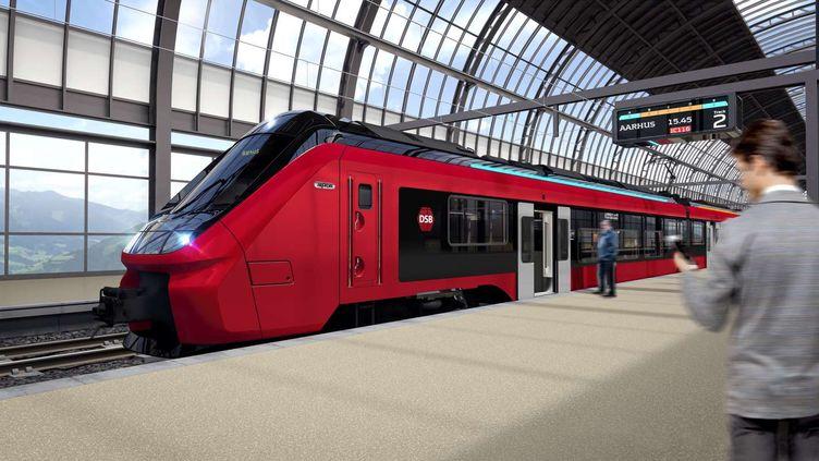 Le constructeur français Alstom va fabriquer et assurer la maintenance d'au moins 100 trains électriques au Danemark. (DSB)